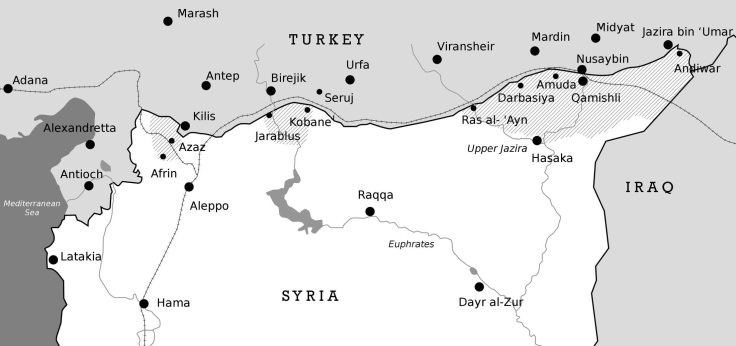 Kurdish Enclaves in Syria